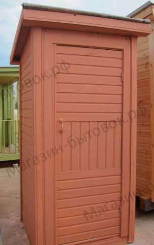 Туалет деревянный 1 1 м