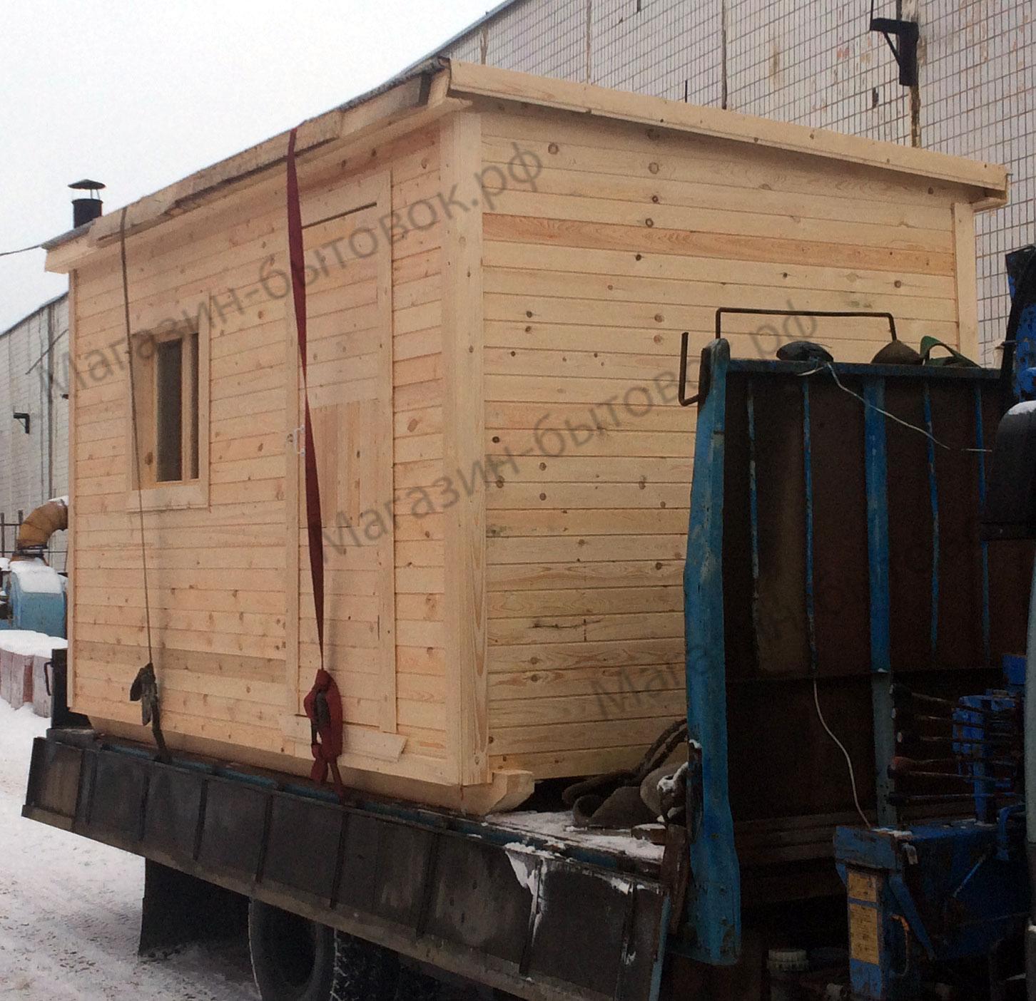 Бытовка строительная 4х2,3м