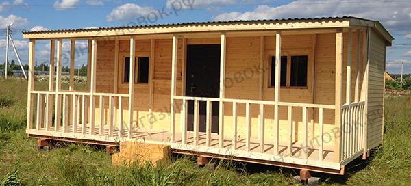 Дачный домик 7х4,6м