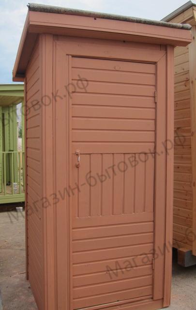 Повадино. Туалет Садовый 1х1м высота 2,0 м со стульчаком