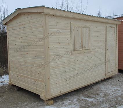 Деревня Шелково. Бытовка дачная 4х2,3м