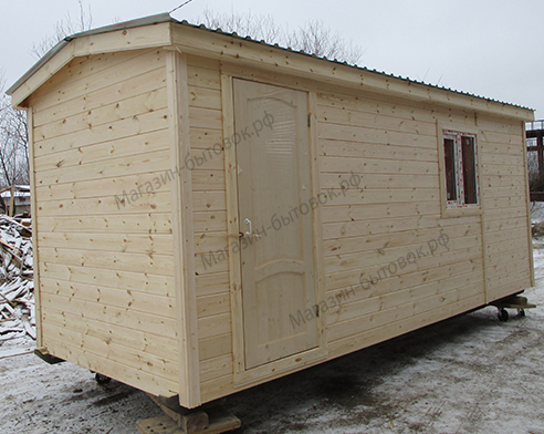 Деревня Иванчиково. Бытовка дачная 6х2,3м