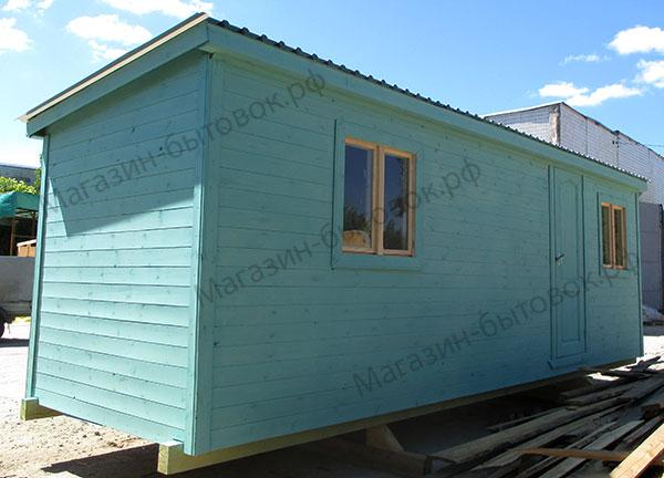 Бытовка дачная 7х2,3м с двумя помещениями.