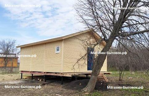 Малое Коровино. Дом каркасный 6х6,9. Рязанской область