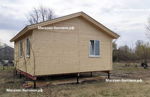 Малое Коровино. Дом каркасный 6х6. Рязанской область