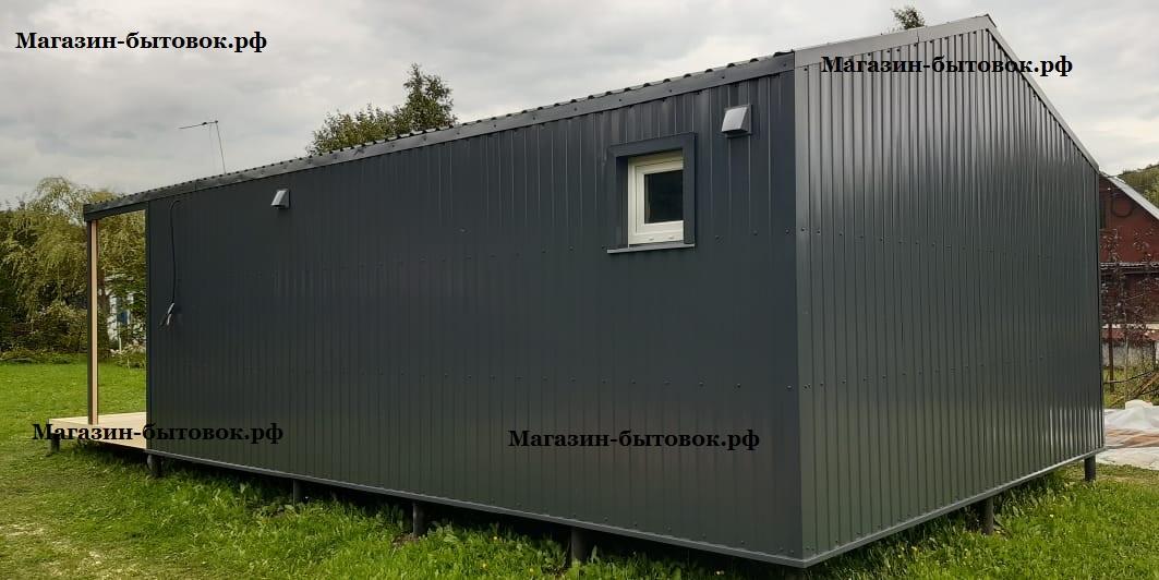 Михнево. Металлокаркасный модульный дом. Московская область